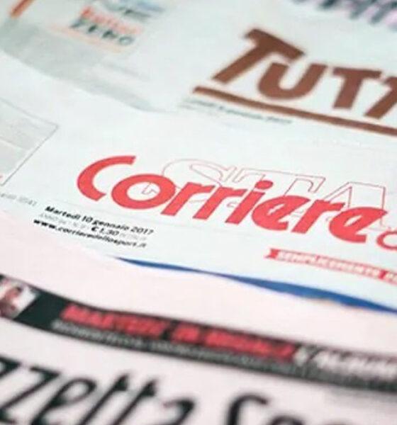 quotidiani sportivi prime pagine