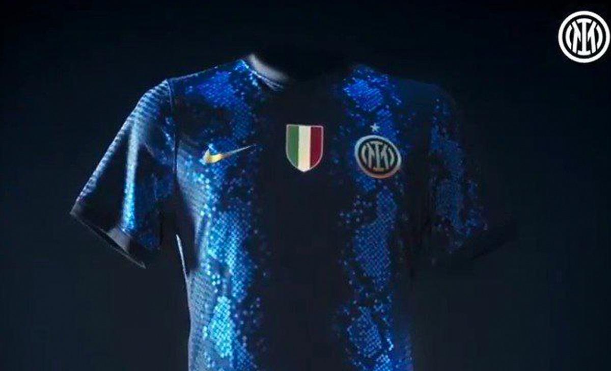 Ufficiale: l'Inter ha presentato la nuova maglia Home 21/22 - VIDEO